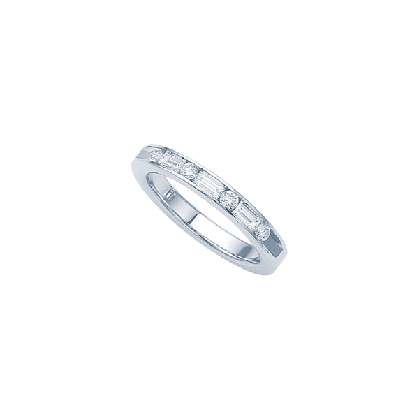 Channel Set Diamond Band by Jabel