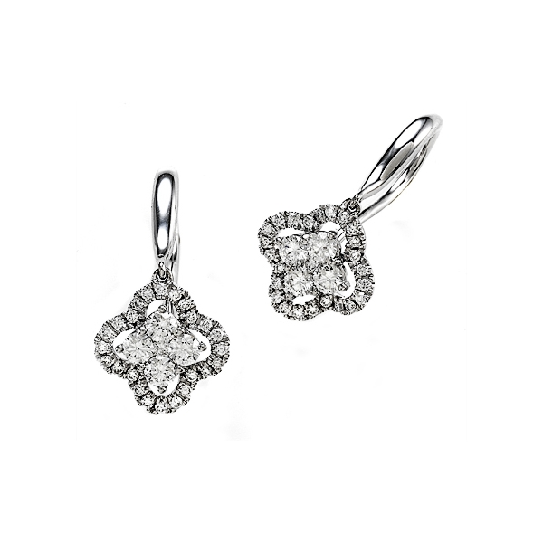 Diamond Drop Earrings by Yoni Diamonds