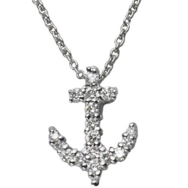 Tiny Treasures Anchor Pendant by Roberto Coin Store Offerings