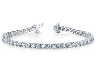 Diamond Tennis Bracelet by Yoni Diamonds