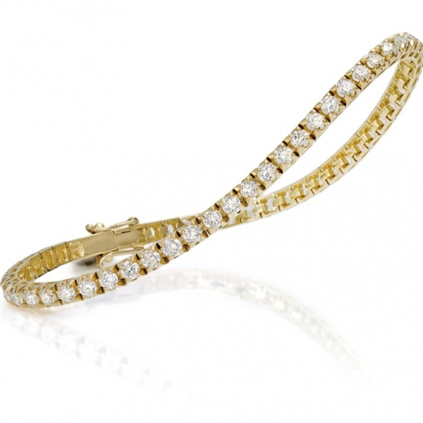 Diamond Tennis Bracelet by Facet Barcelona