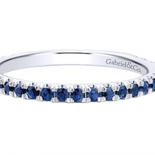 Sapphire Stackable (September) by Gabriel & Co