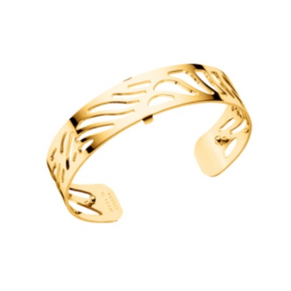 Gold Wave Cuff by Les Georgettes