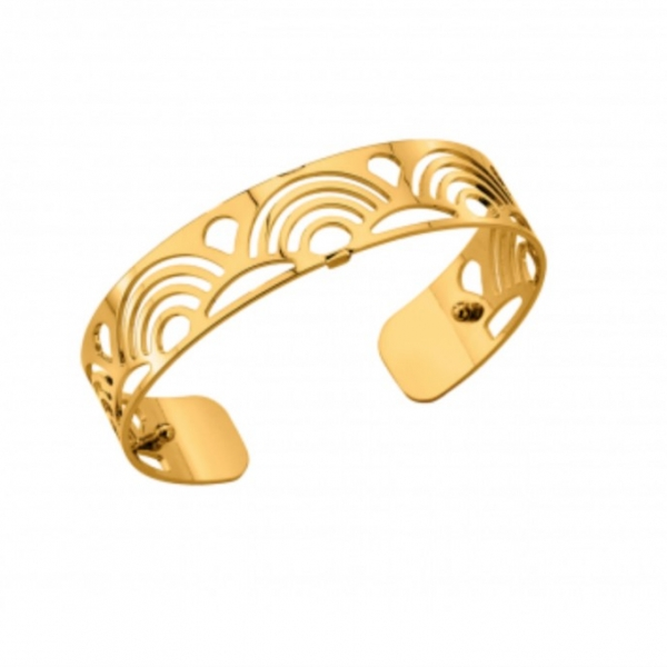 Gold Poisson Cuff by Les Georgettes