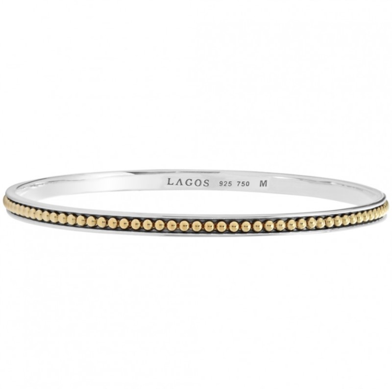 KSL Caviar Beaded Bangle by Lagos