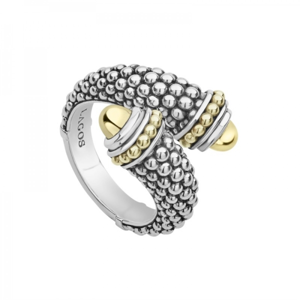 Signature Caviar Crossover Ring by Lagos