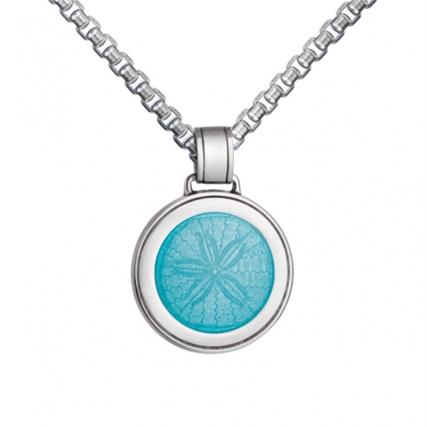 Sand Dollar Pendant - Medium by Colby Davis of Boston