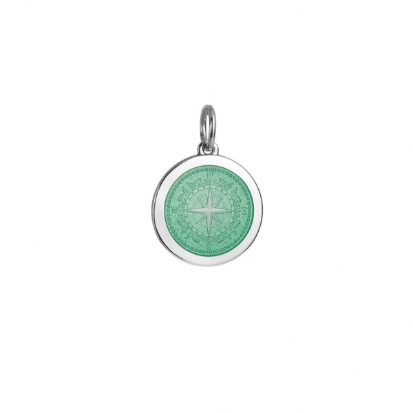 Compass Rose Pendant - Medium by Colby Davis of Boston