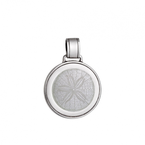 Sand Dollar Pendant - Small by Colby Davis of Boston