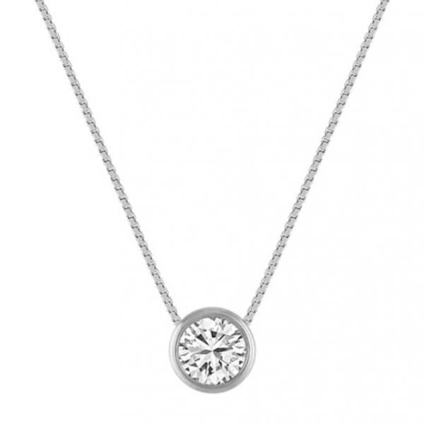 Diamond Pendant Necklace by HJ Hot Jewels