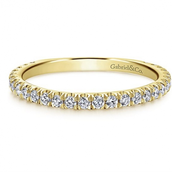Diamond Stacking Ring by Gabriel & Co