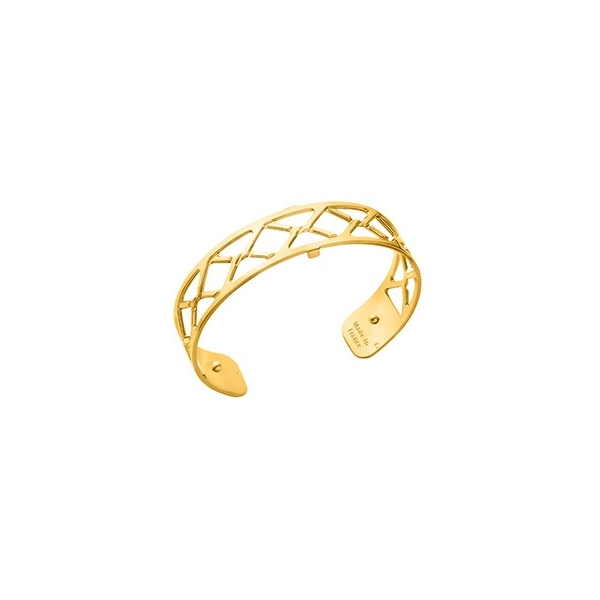 Gold Cannage Cuff Bracelet by Les Georgettes