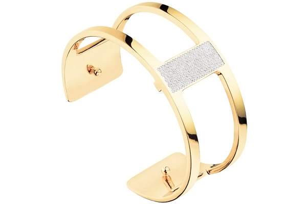 Gold Barrette Cuff by Les Georgettes