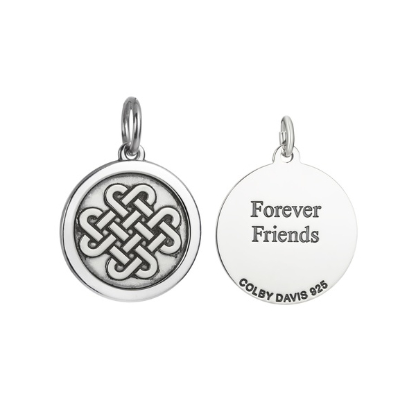 Forever Friends Celtic Knot Pendant by Colby Davis of Boston